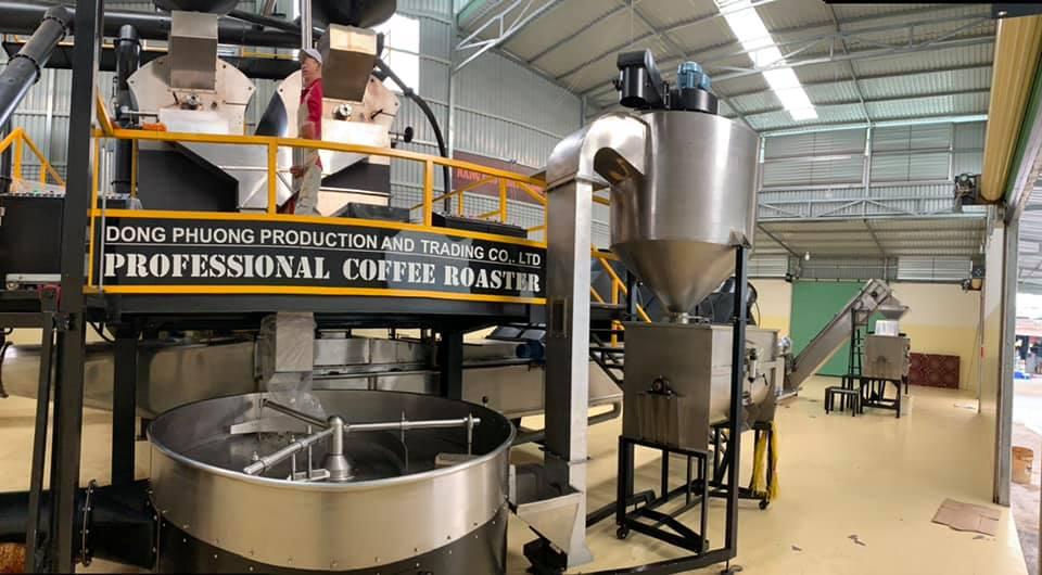 nhà máy rang cà phê đông phương